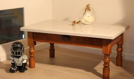 Table basse Lune Valence